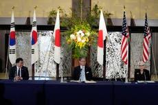 日本, 我ら, S Korea reaffirm cooperation on N Korea