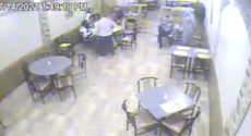 Video shows the moment a New Jersey police detective on his lunch break saved a choking child