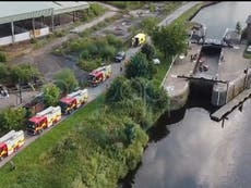 Teenager drowns in canal as number of lives lost in water during heatwave rises to nine