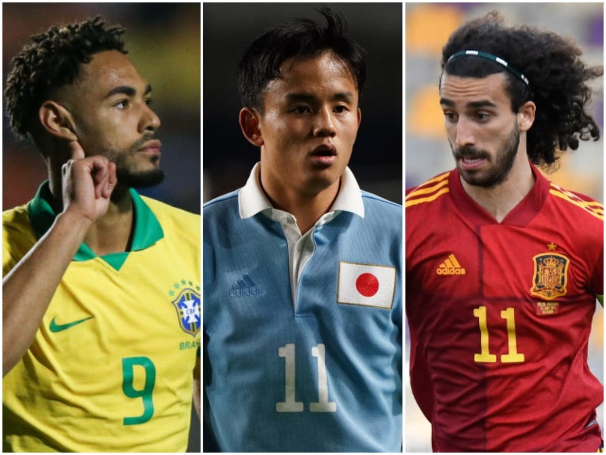 8 players to watch as men's Olympic football tournament starts at Tokyo 2020