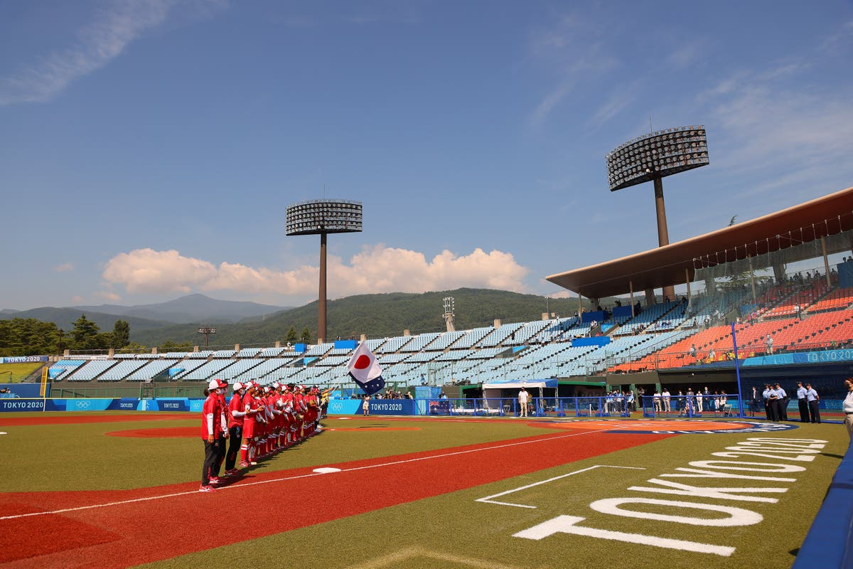 Bear on the loose at Tokyo softball venue ahead of Olympic Games opener