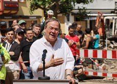 Floods fuel climate debate in Germany's election campaign