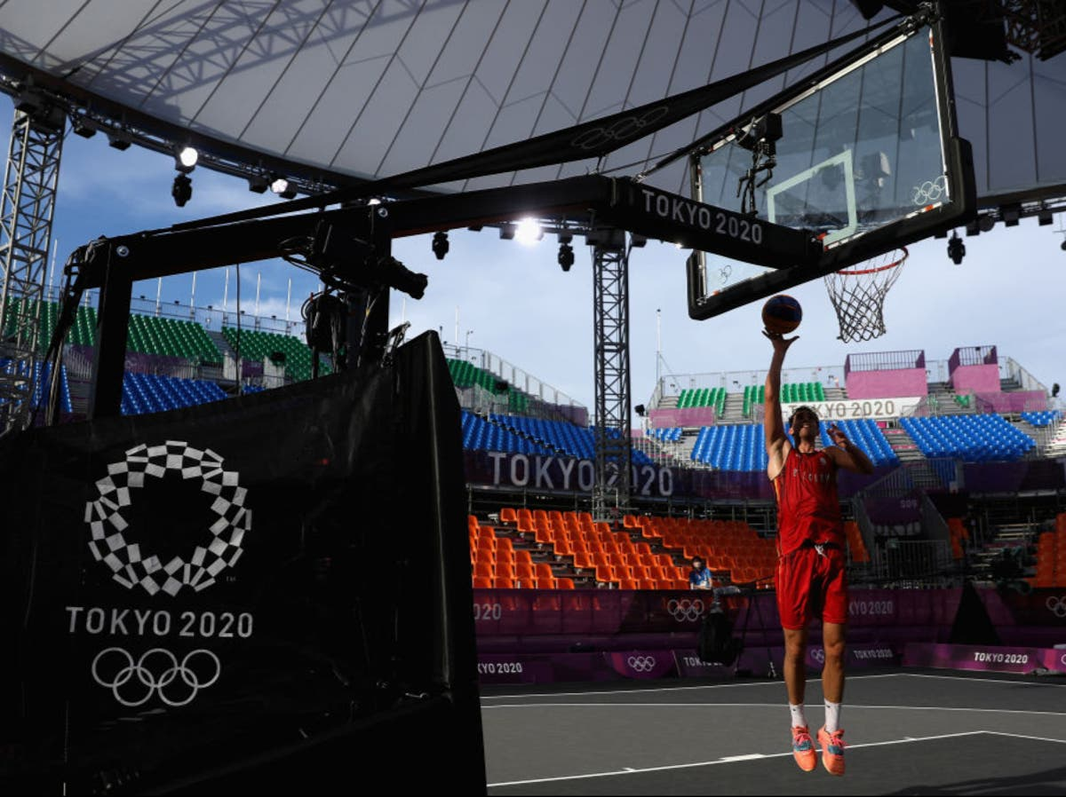 What are the rules for 3x3 half-court basketball at Tokyo Olympics?