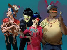 Gorillaz announce free gig for NHS workers: How to get tickets