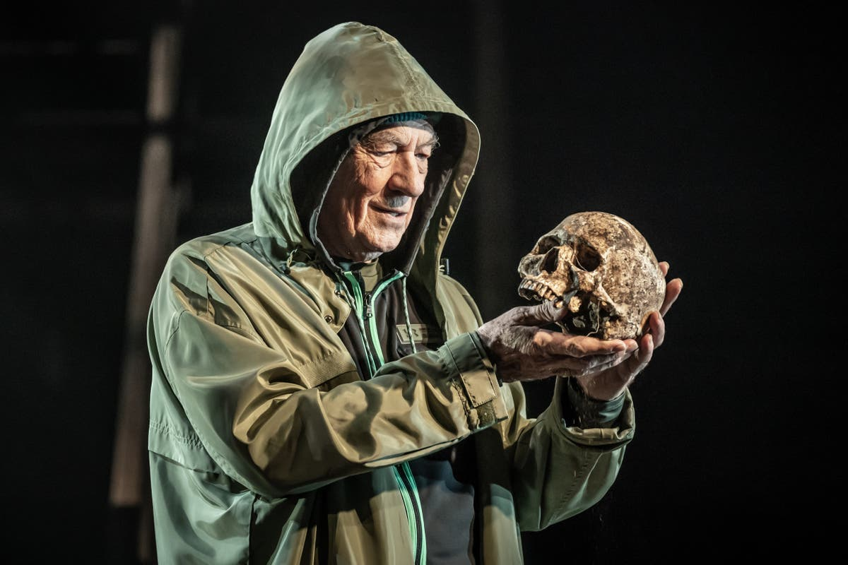 Ian McKellen is electrically courageous in age-blind Hamlet – review