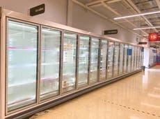 Covid app 'pingdemic' blamed for empty supermarket shelves
