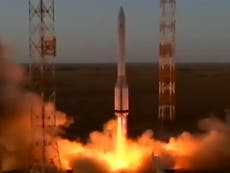 Russia launches new 'walking' robot arm module to the International Space Station