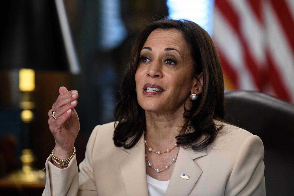 VP Harris reassures polls workers amid rising violent threats and GOP election laws