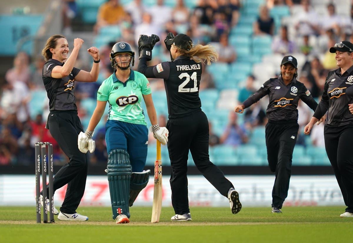 England international Kate Cross hails 'amazing' opening night of The Hundred