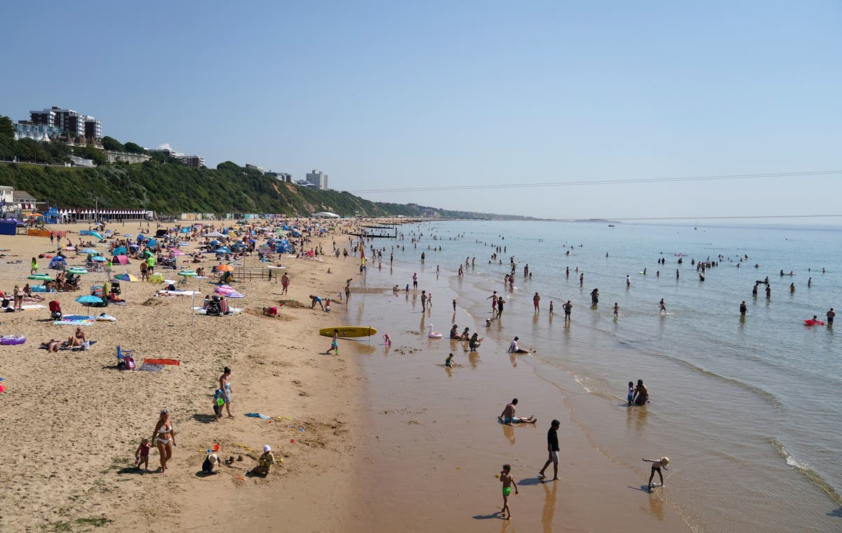 Hunt for rapist who attacked girl, 15, in sea off packed Bournemouth beach
