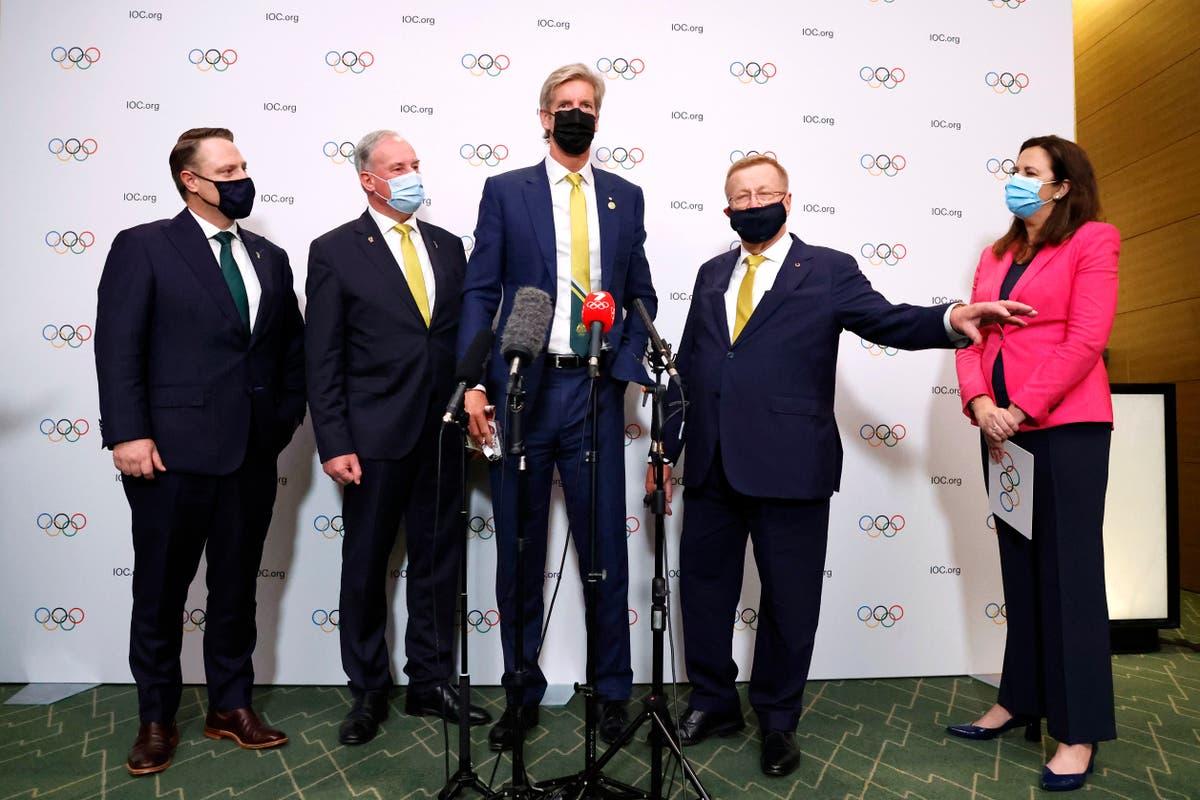 Le dernier: Australia Olympic chief, leader in spat