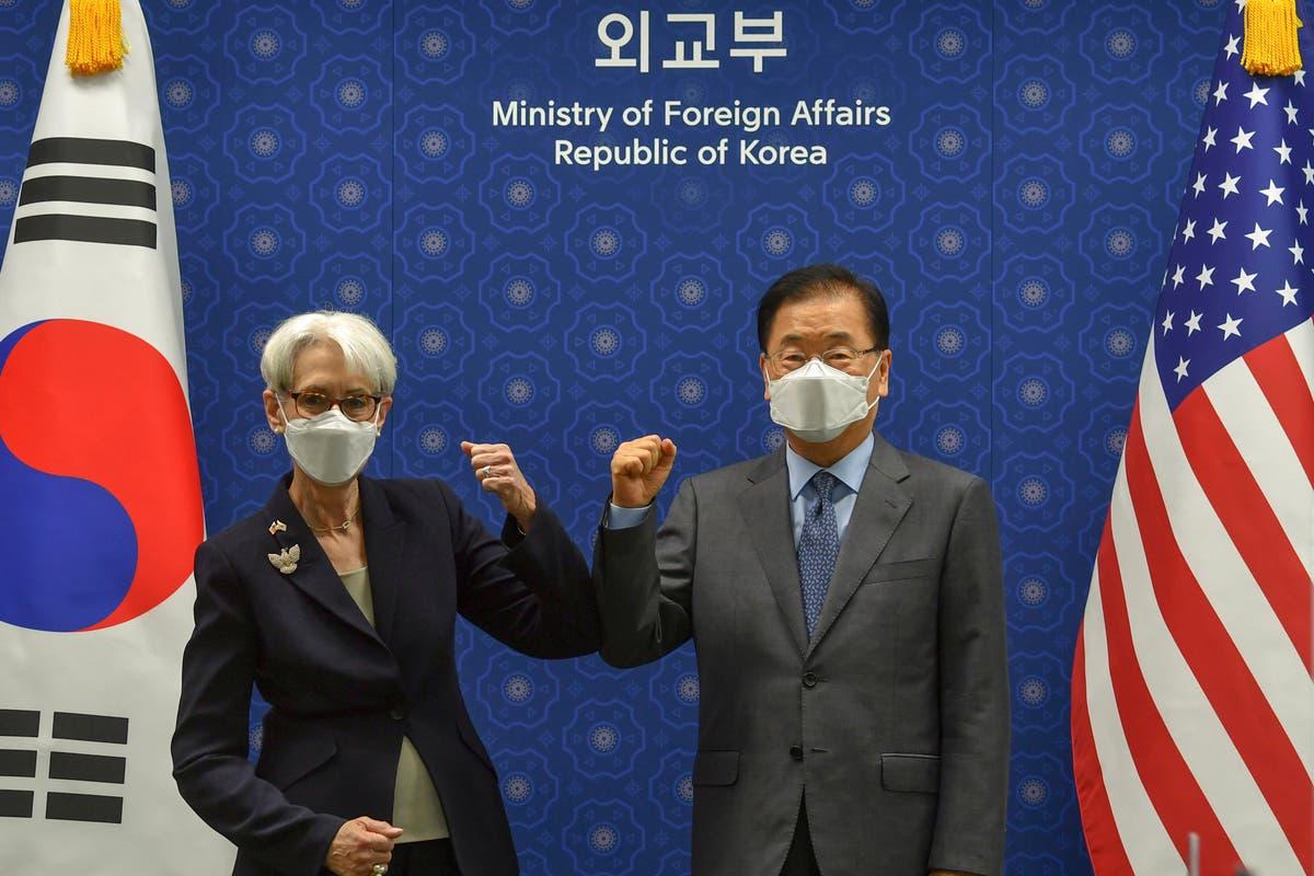 我ら, S. 韓国は北朝鮮に核交渉に戻るよう説得することに同意する