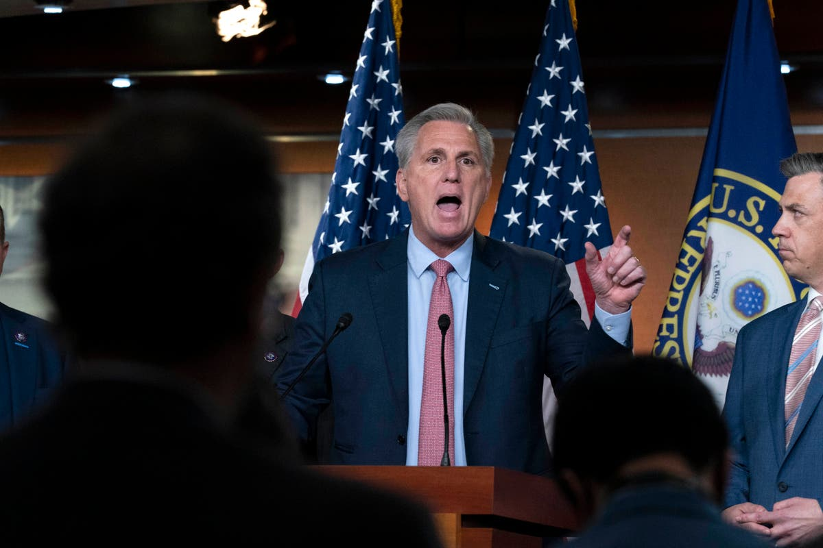McCarthy and House Republicans slams Capitol riot committee ahead of first hearing