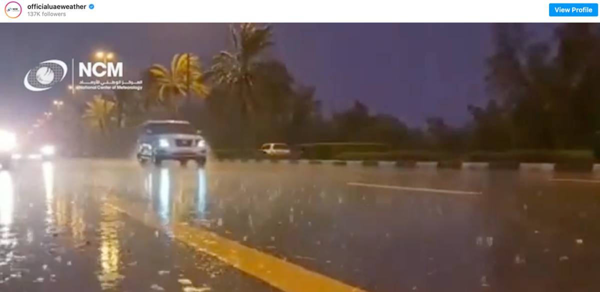 Avis: Dubai's fake rain offers hope that we can innovate our way out of the climate crisis