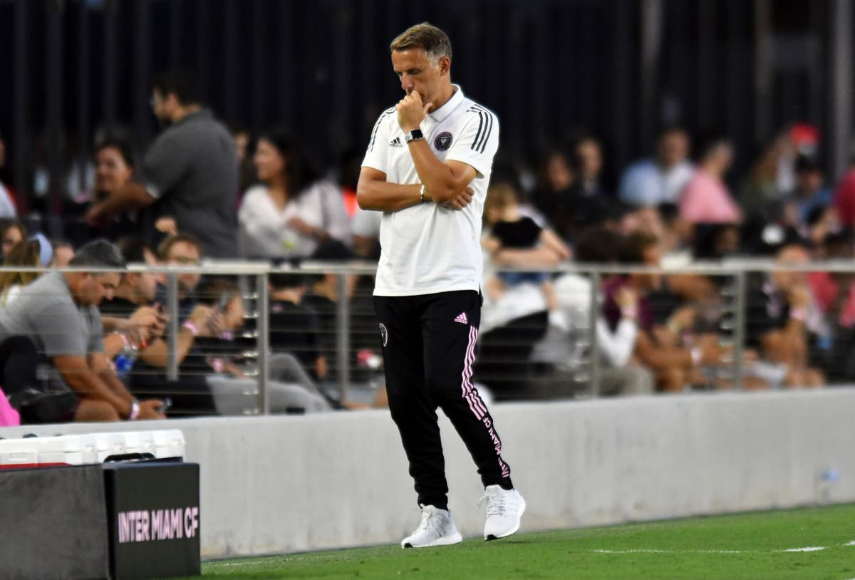 Phil Neville to take 'long, hard look' at himself after poor Inter Miami start