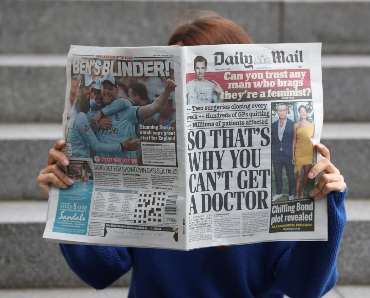 Daily Mail owner reports revenue jump as it awaits potential bid