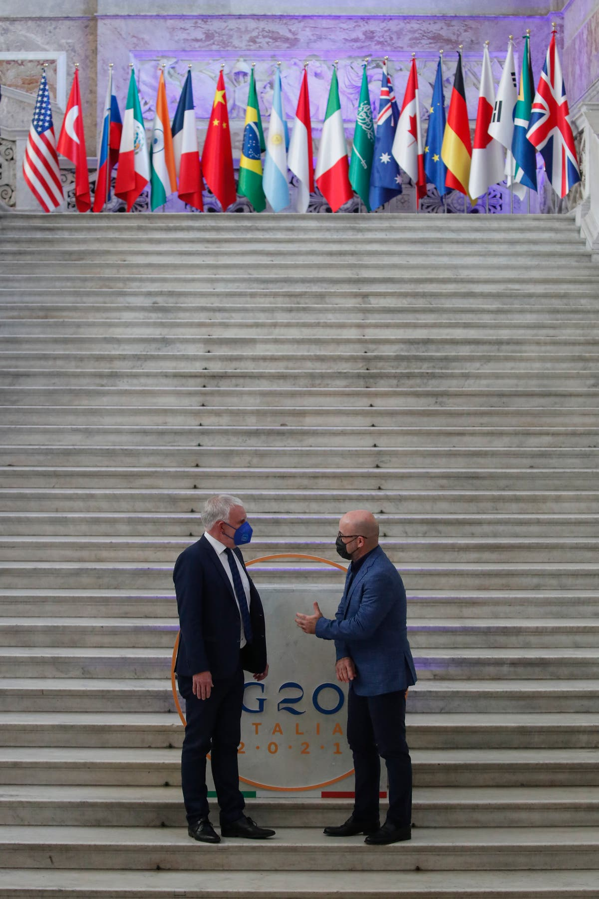 G20 environment ministers meet in Italy amid floods, fires