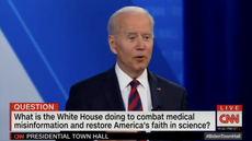Biden suggests some Fox News hosts have had 'altar call' after backing vaccinations