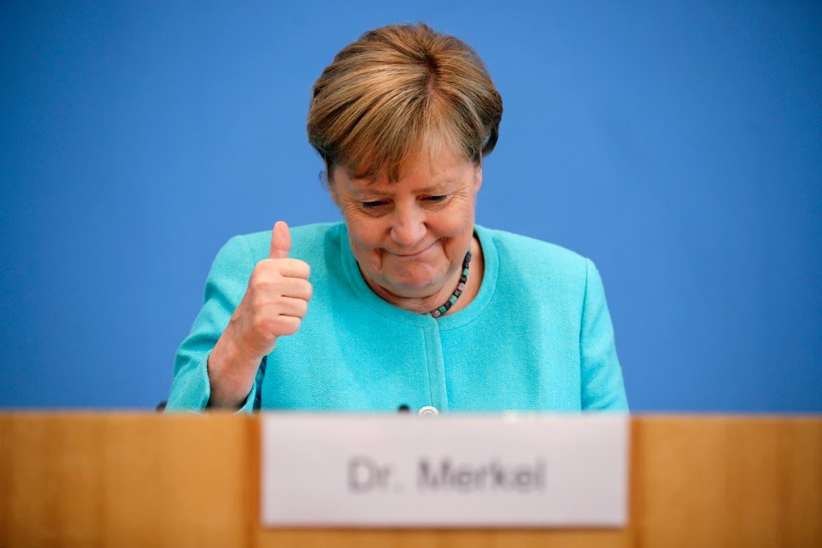 Germany's Merkel says pipeline deal with US good for Ukraine