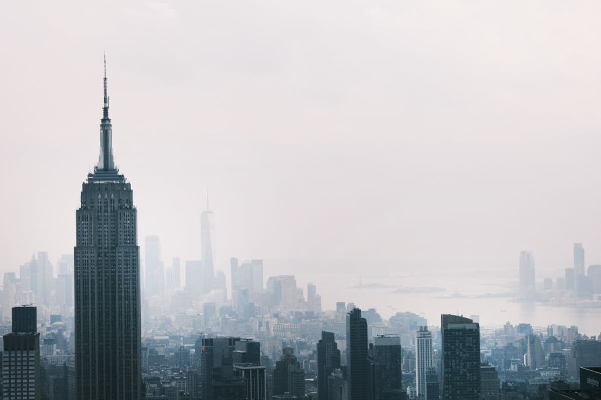 New York City air quality among world's worst as US cities shrouded in smoke from wildfires