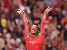 シモーネ・バイルズ: When is the gymnast competing at Tokyo Olympics today?