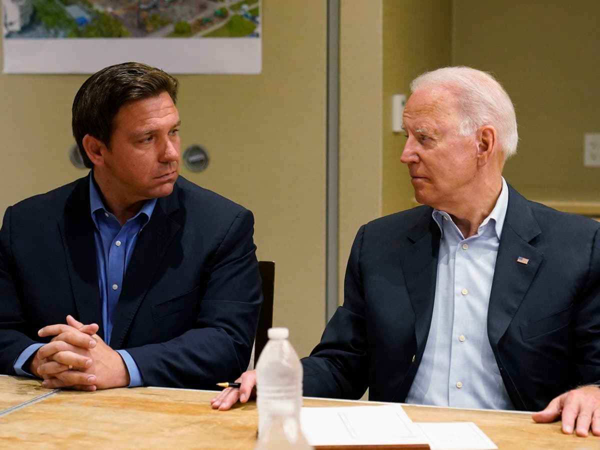 'He's basically just sitting there doing nothing': Ron DeSantis hits out at Biden over Cuba