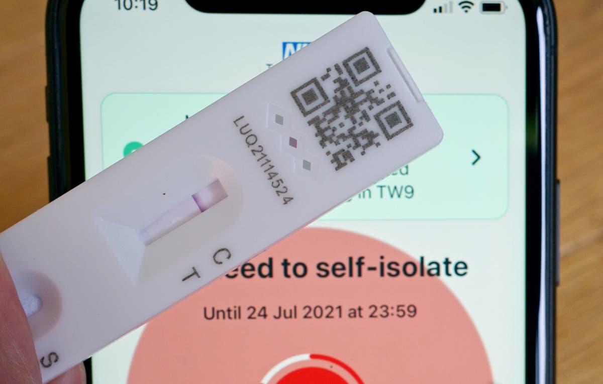 小売業者が混乱を警告しているため、Covid-19アプリによって分離するように指示された記録番号