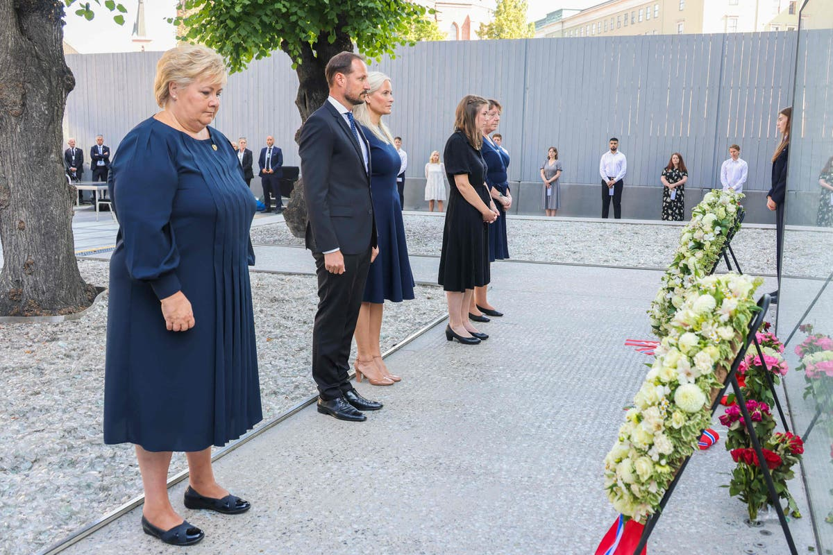 Bells sound across Norway as the country holds a memorial ten years after the Utoya massacre