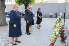 Bells sound across Norway as the country holds memorial ten years after the Utoya massacre