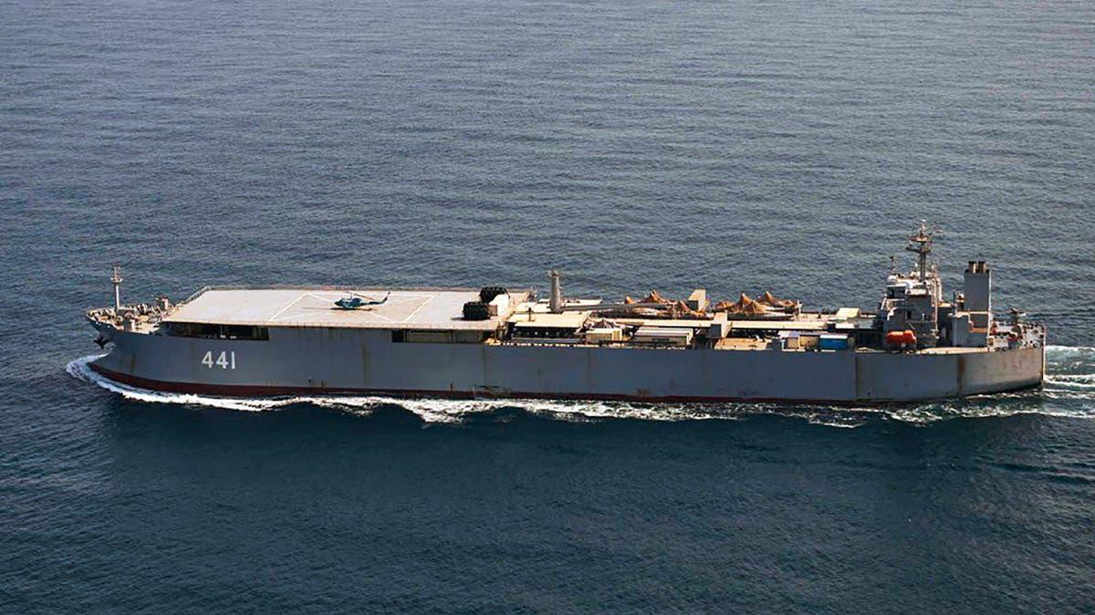 Danish military spots Iranian vessels in the Baltic Sea