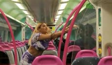 Woman filmed racially abusing passengers on train from Essex to London and threatening to stab them