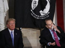 Former GOP presidential candidate Bob Dole says he's 'sort of Trumped out'