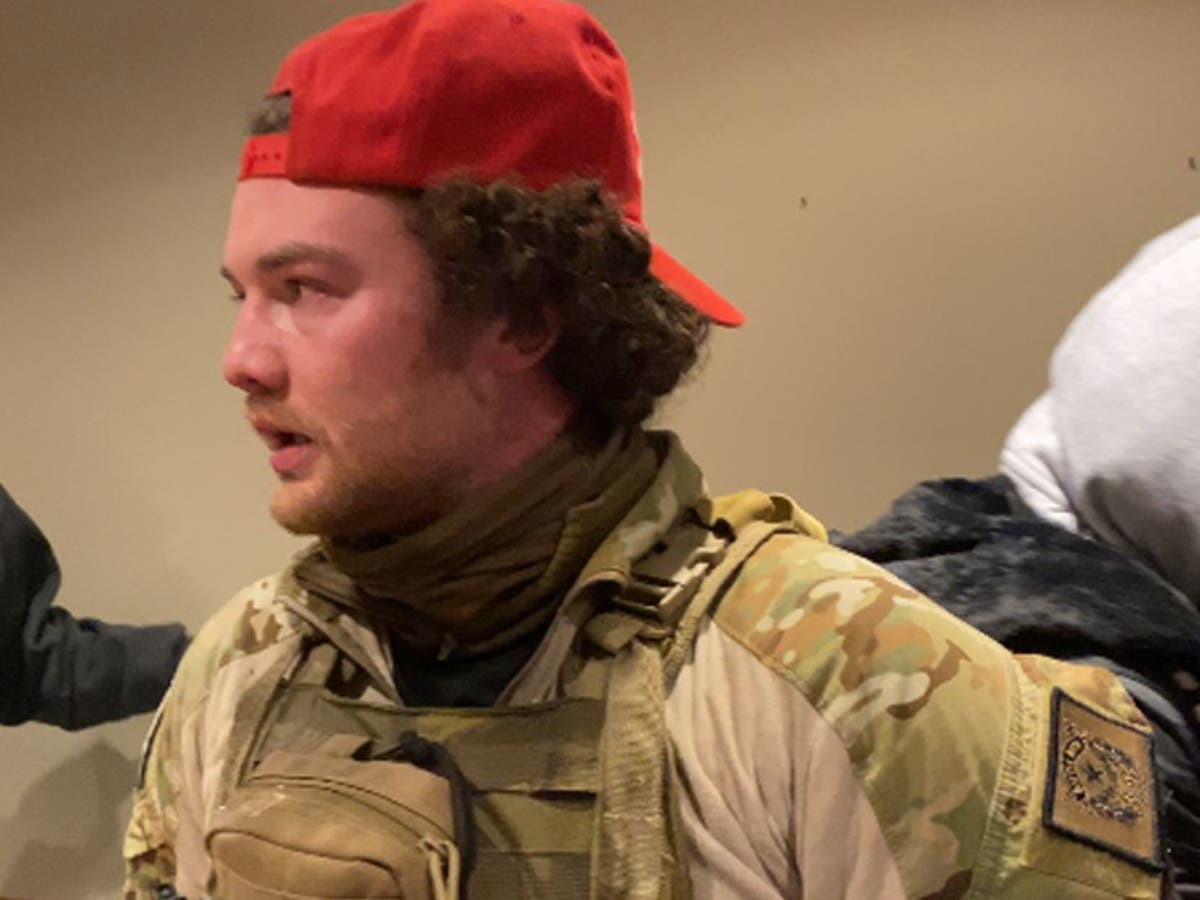 Ex-Army Ranger used military training during Capitol riot, judge says