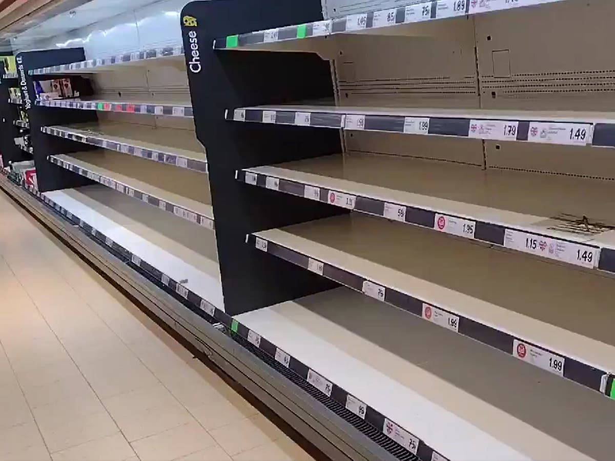 英国真的会耗尽食物吗?