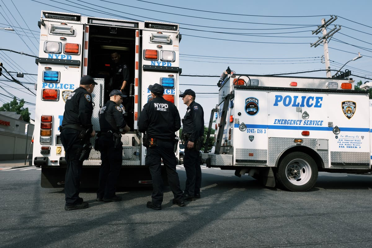 NYPD vaccination rate of 43 per cent raises fears of police spreading variants to public
