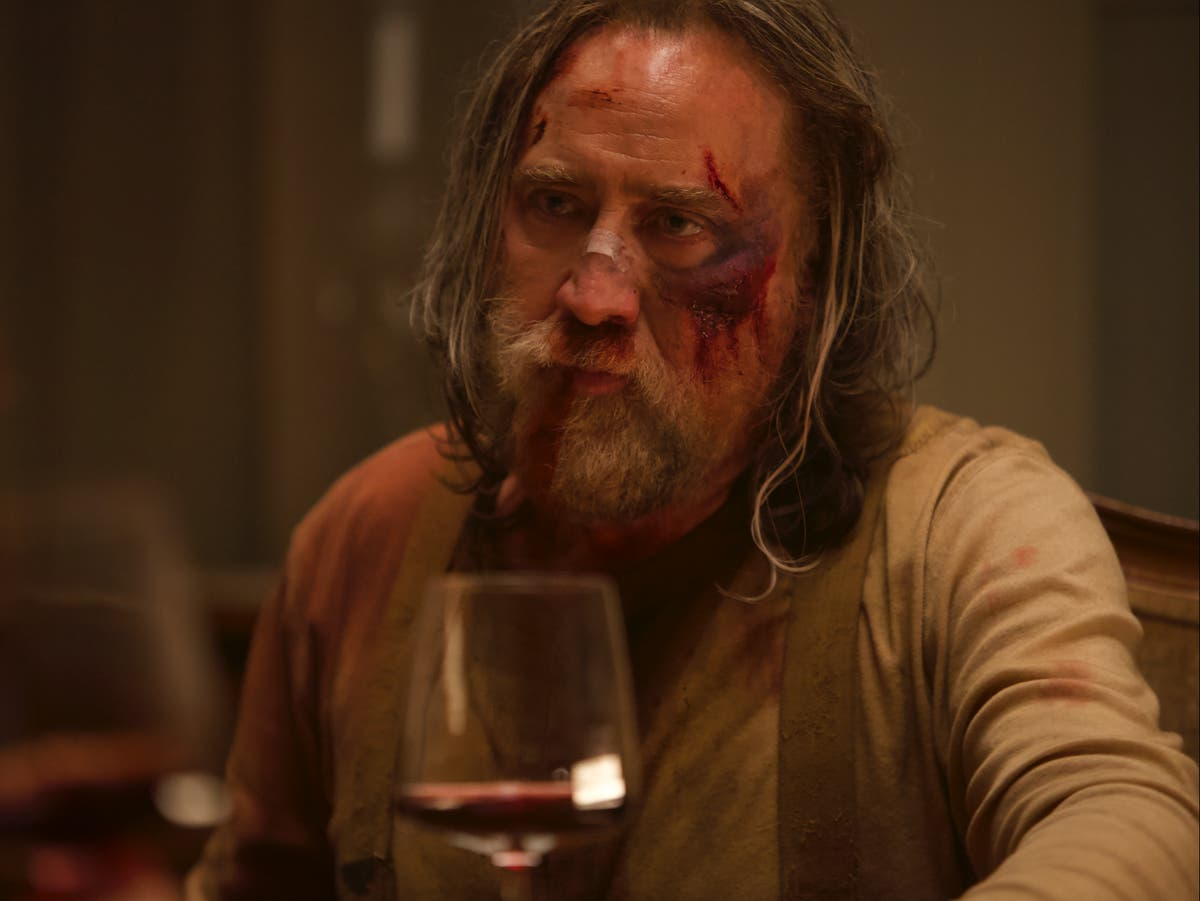 Nicolas Cage's new movie scores 98% note sur Tomates pourries