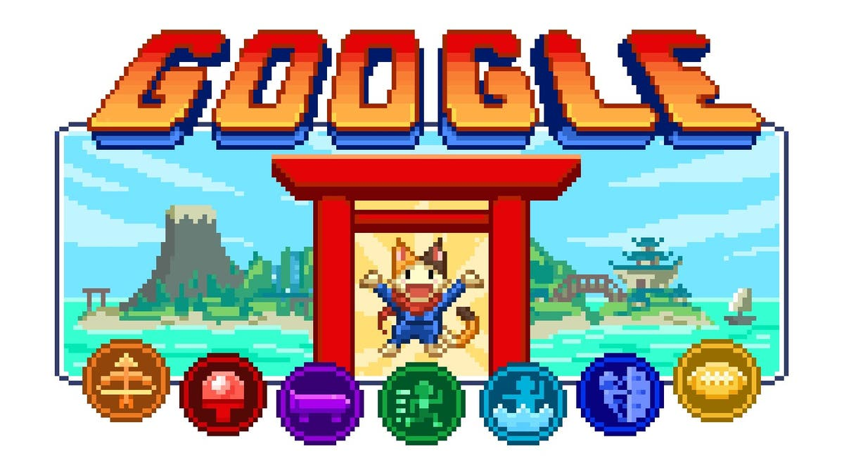 Google Doodle launches series of games around Tokyo Olympics