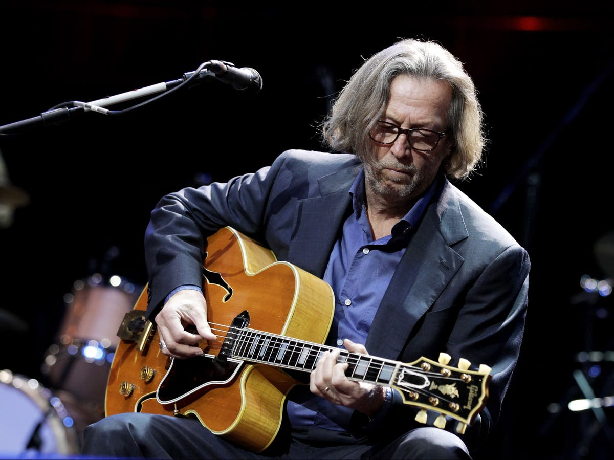Eric Clapton fans react after musician says he refuses to play venues that require vaccine passports