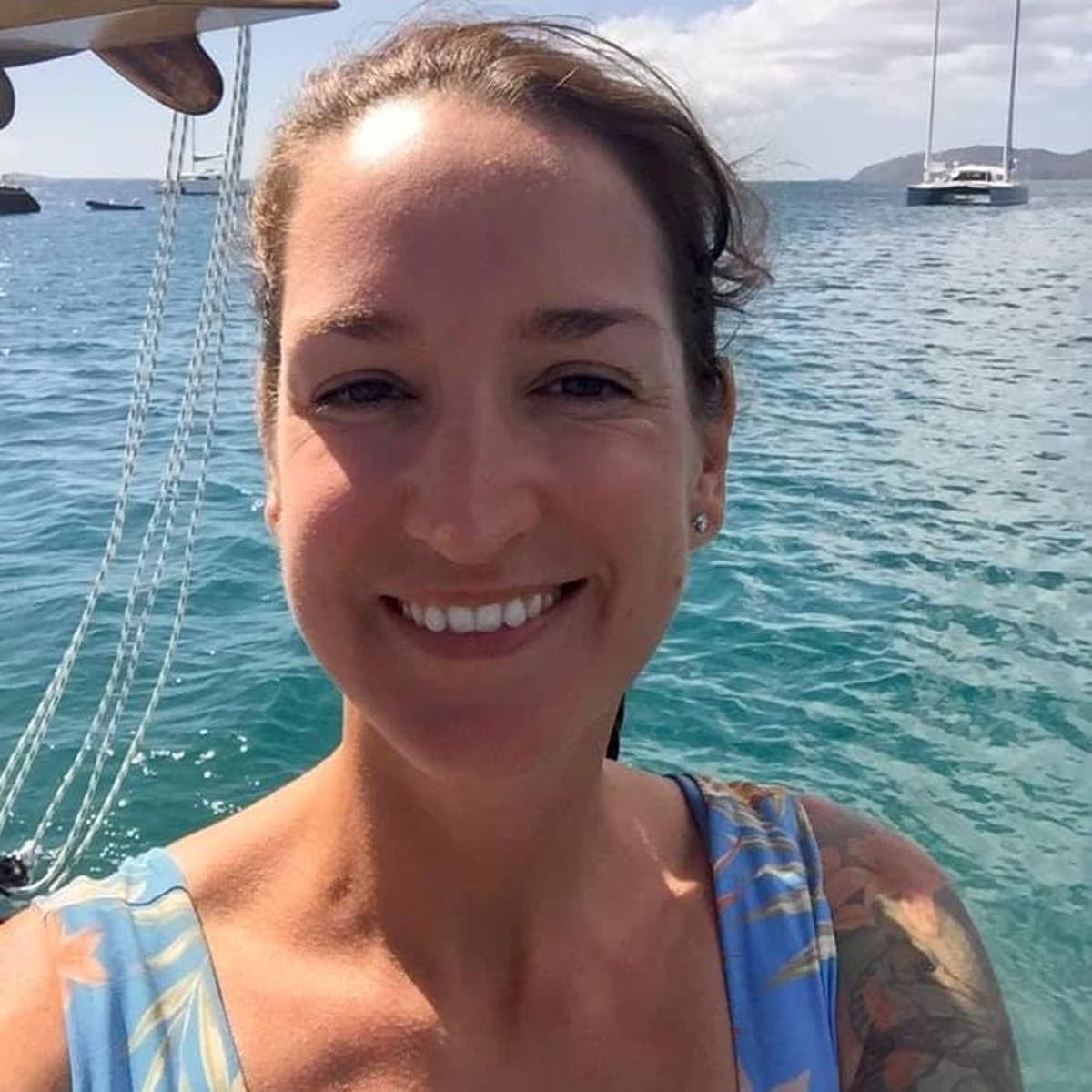 Sarm Heslop: Parents of British woman missing in Caribbean urge forensic search of catamaran