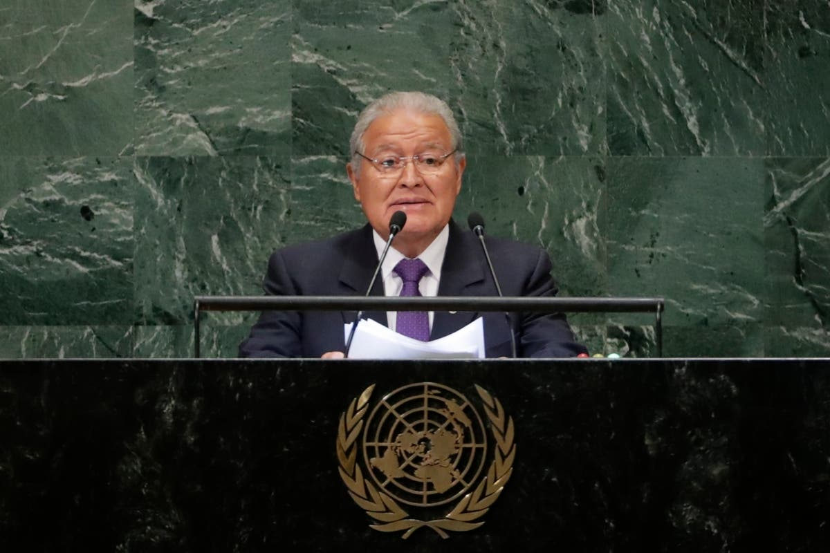 Ex-president formally charged in El Salvador corruption case