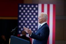Mais que 150 civil rights groups urge Biden to protect voting rights 'by whatever means necessary'