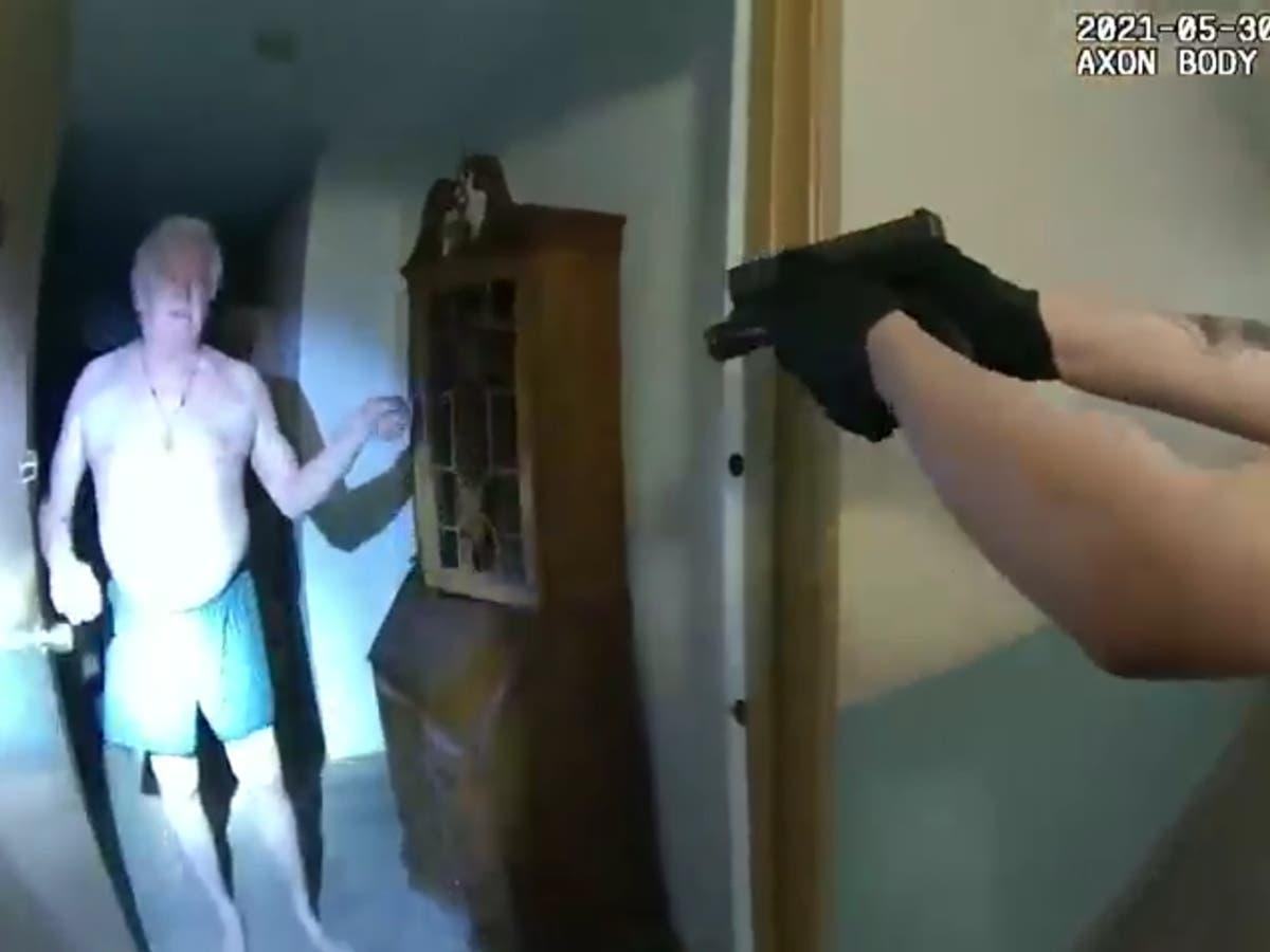 Police taser 75-year-old in his underwear