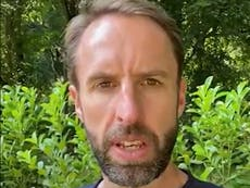 Gareth Southgate praised after urging unvaccinated under-30s to get Covid jab
