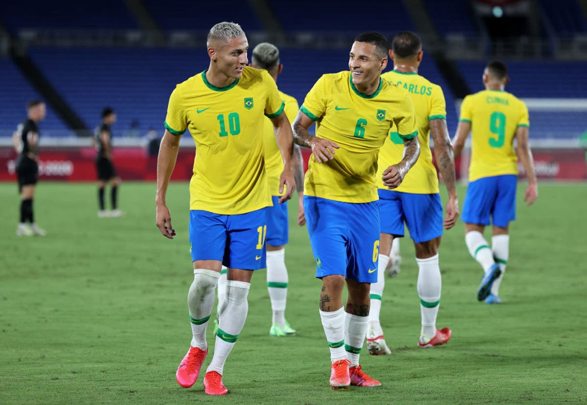 Brazil vs Ivory Coast live stream: How to watch Tokyo 2020 fixture online and on TV