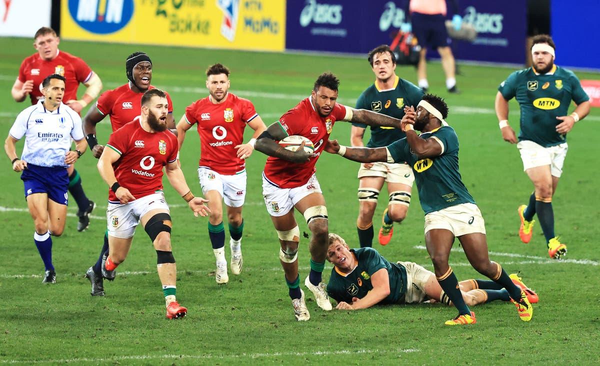 ケープタウンでの最初のテスト勝利で、ライオンズが南アフリカを越えて勢力を取り戻しました