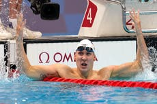 Kalisz wins first US medal of Tokyo Games, Litherland 2nd