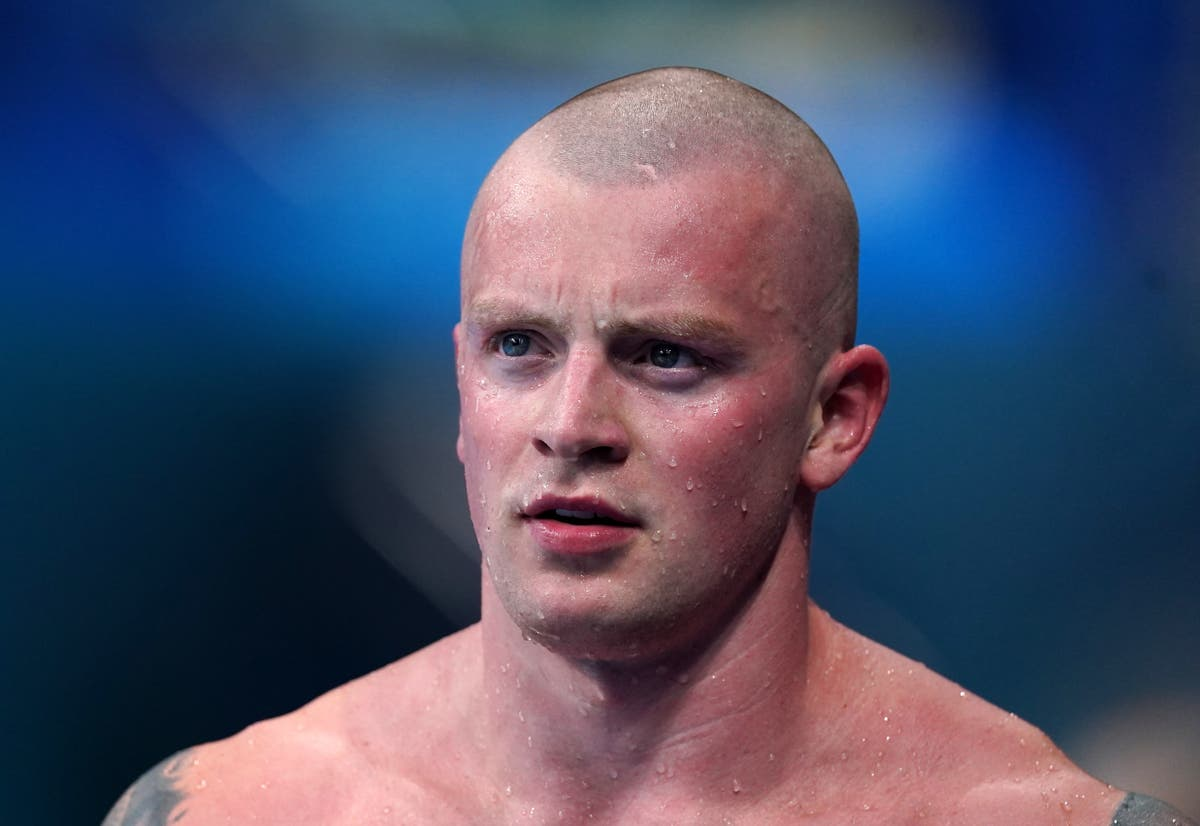 When is Adam Peaty competing for gold in 100m breaststroke final?
