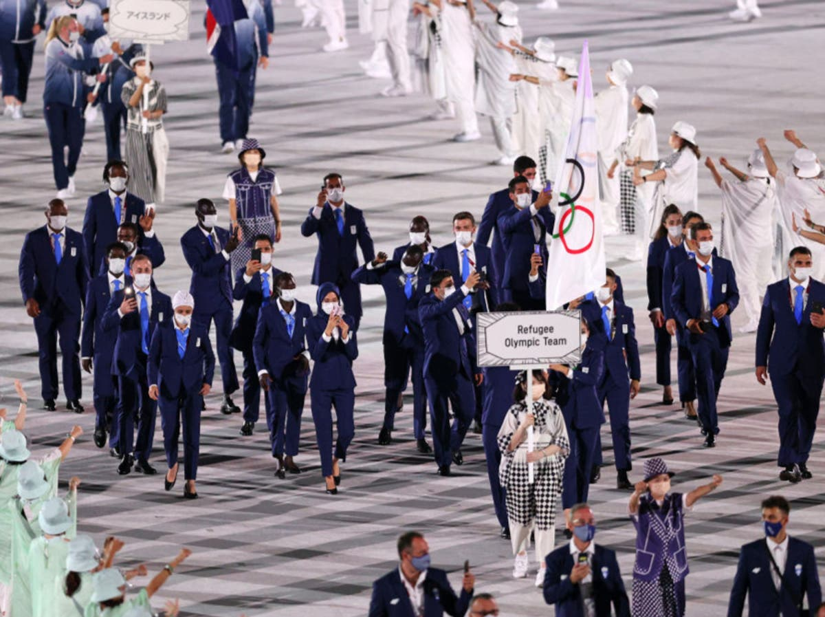What is the EOR Olympic team and how is it formed?