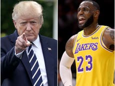Trump dragged for suggesting LeBron James could get sex change to compete against women