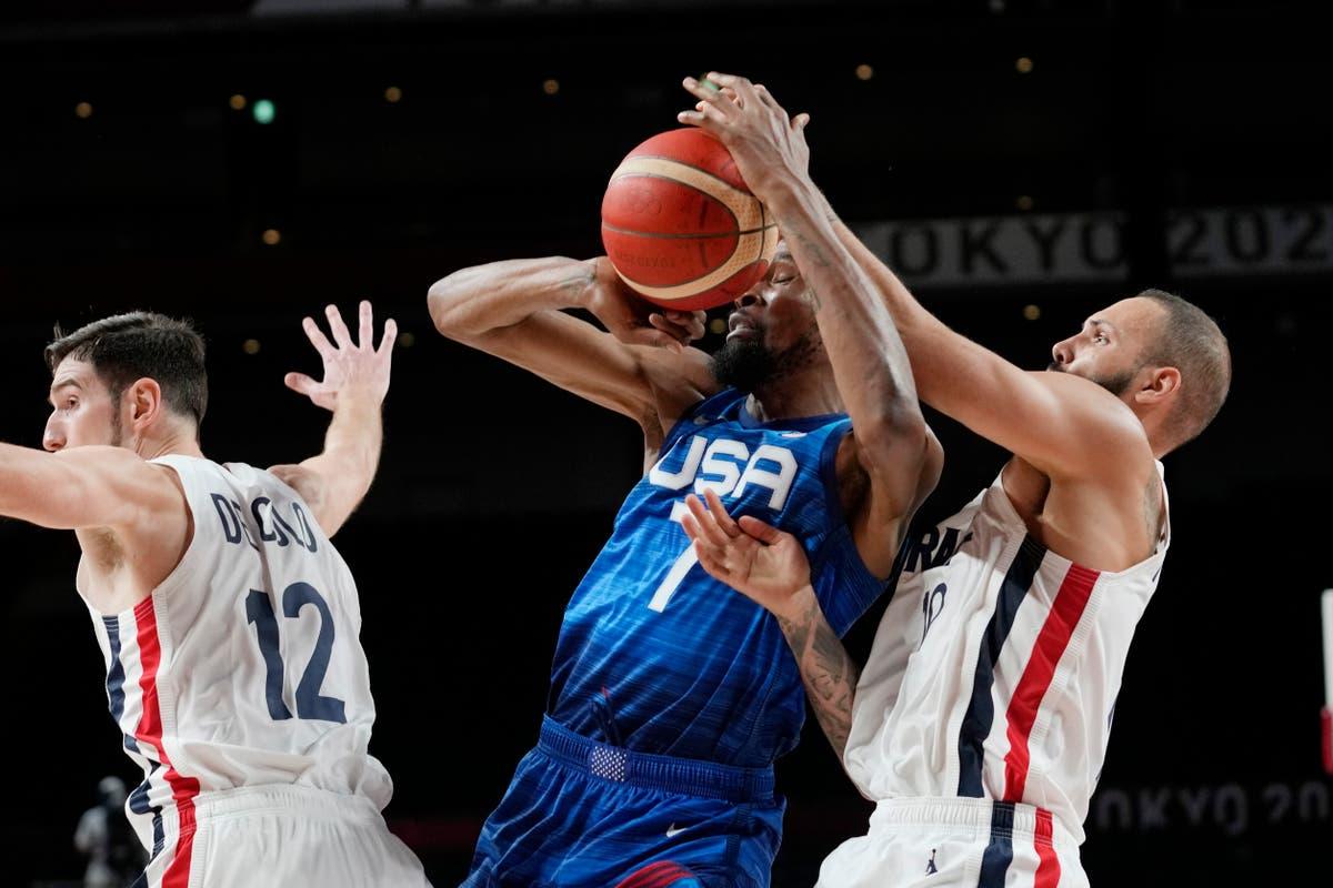 アメリカはフランスに負ける 83-76, 25-ゲームオリンピック連勝が終了